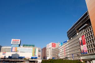 新宿駅西口ロータリーの写真素材 [FYI01680687]