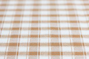 チェック柄の布の写真素材 [FYI01680722]