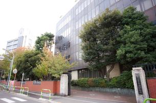 瀧野川女子学園中学高等学校の写真素材 [FYI01680829]