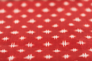 チェック柄の布の写真素材 [FYI01680868]