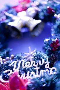 クリスマスリースの写真素材 [FYI01680939]