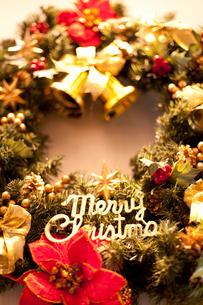 クリスマスリースの写真素材 [FYI01681450]
