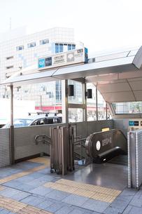 上野広小路駅、上野御徒町駅A3出口の写真素材 [FYI01681525]