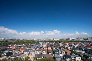 住宅街の写真素材 [FYI01681565]