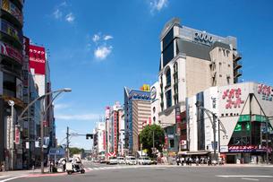 上野広小路交差点の写真素材 [FYI01681595]