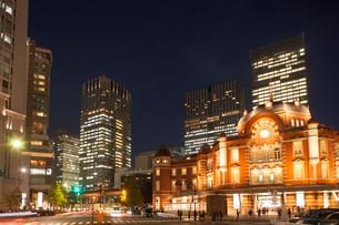 東京駅丸の内口の写真素材 [FYI01681638]