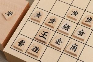将棋盤の写真素材 [FYI01681814]