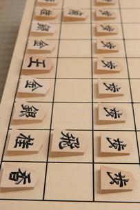 将棋盤の写真素材 [FYI01681877]