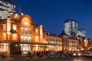 東京駅丸の内口の写真素材 [FYI01681894]