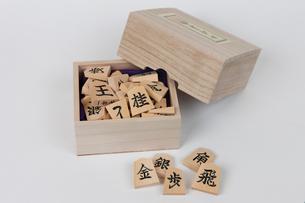 将棋駒の写真素材 [FYI01681937]