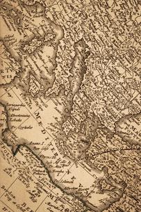 古地図 ヨーロッパの写真素材 [FYI01681950]