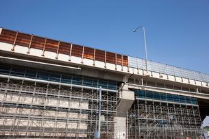 高架道路の補修工事の写真素材 [FYI01681982]