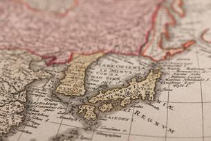 古地図 日本の写真素材 [FYI01682004]