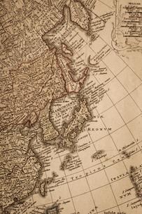 古地図 東アジアの写真素材 [FYI01682037]