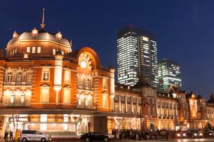 東京駅丸の内口の写真素材 [FYI01682050]