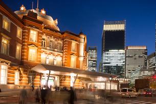 東京駅丸の内口の写真素材 [FYI01682131]