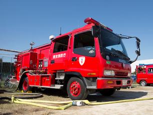 消防自動車の写真素材 [FYI01682207]
