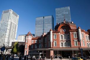 東京駅丸の内口の写真素材 [FYI01682220]