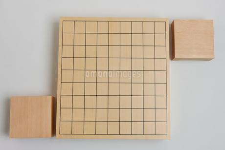 将棋盤と駒台の写真素材 [FYI01682256]