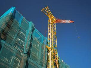 マンションの新築工事の写真素材 [FYI01682351]
