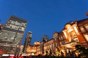 東京駅丸の内口の写真素材 [FYI01682474]
