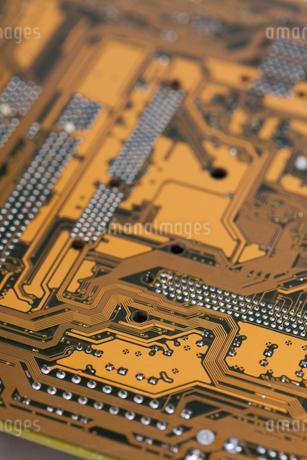 PCの基盤の写真素材 [FYI01682515]