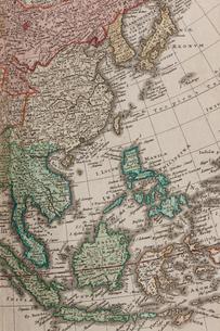 古地図 東アジアの写真素材 [FYI01682551]