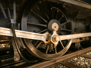 機関車の車輪の写真素材 [FYI01682614]