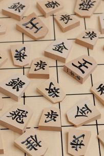 将棋駒の写真素材 [FYI01682725]
