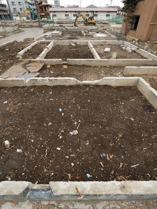 撤去された住宅の写真素材 [FYI01682765]