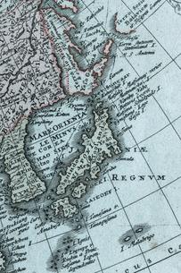 古地図 東アジアの写真素材 [FYI01682794]