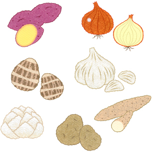 野菜/土物類のイラスト素材 [FYI01682849]