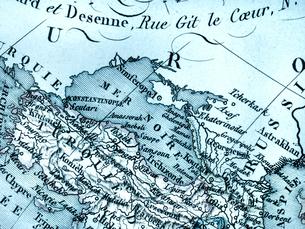 古地図 黒海周辺地域の写真素材 [FYI01682999]