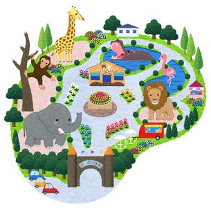 動物園のイラスト素材 [FYI01683266]