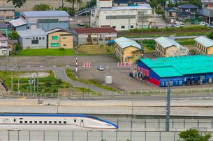 北陸新幹線の写真素材 [FYI01683882]