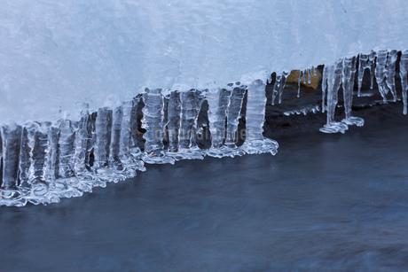 湯川渓谷の氷柱の写真素材 [FYI01684186]