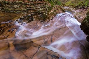 沢上谷の流れの写真素材 [FYI01684305]