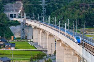 北陸新幹線の写真素材 [FYI01684446]