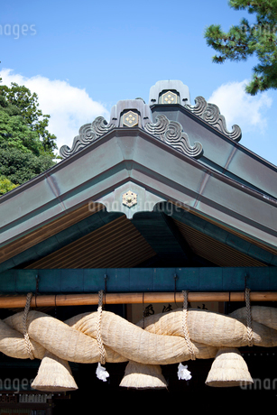 出雲大社神楽殿の写真素材 [FYI01685128]