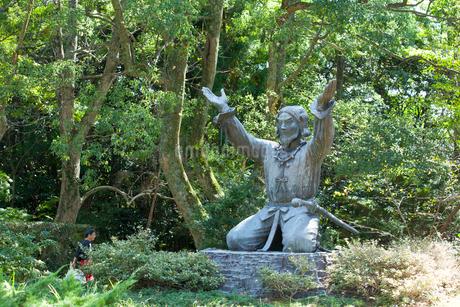 出雲大社の大国主大神像の写真素材 [FYI01685131]