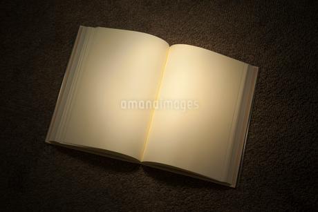 白紙の本の写真素材 [FYI01685177]