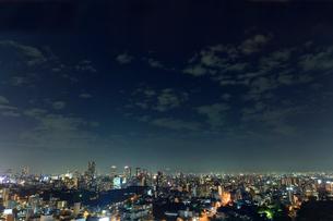 大阪市の夜景の写真素材 [FYI01685461]