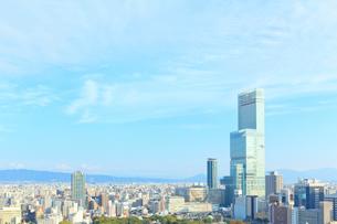 大阪市の街並の写真素材 [FYI01685507]