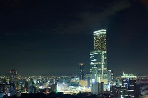 大阪市の夜景の写真素材 [FYI01685508]