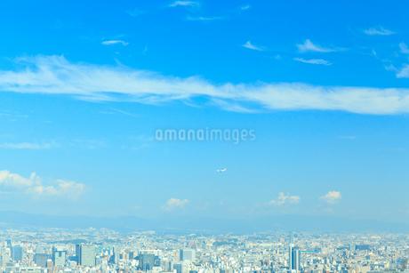 青空と街並の写真素材 [FYI01685553]