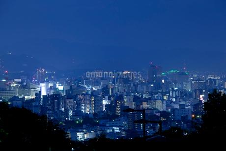 広島市の夜景の写真素材 [FYI01685612]
