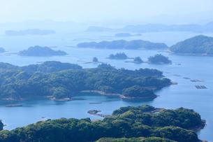 展海峰よりのぞむ九十九島の写真素材 [FYI01685673]