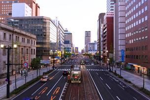広島の路面電車の写真素材 [FYI01685830]