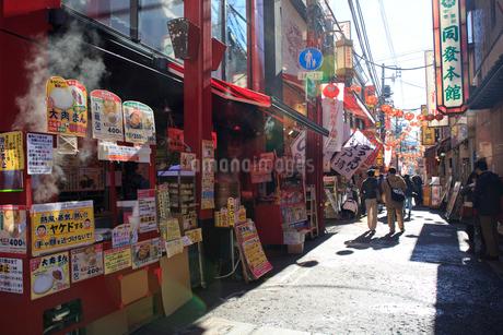 横浜 中華街の写真素材 [FYI01685841]