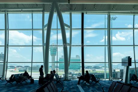 香港国際空港の写真素材 [FYI01686525]